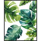 Obraz SHADOW PICTURE MONSTERA 41.8 x 51.8 cm