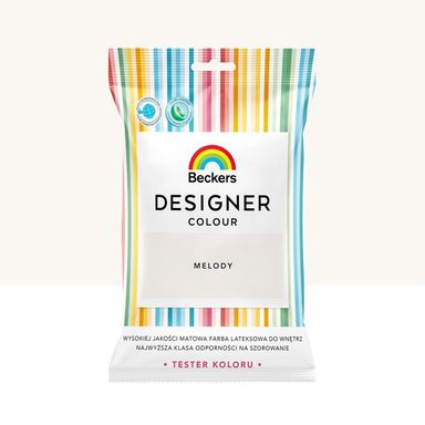 Tester farby Designer Colour 50 ml Melody Beckers