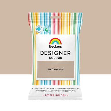 Tester farby Designer Colour 50 ml Macadamia Beckers
