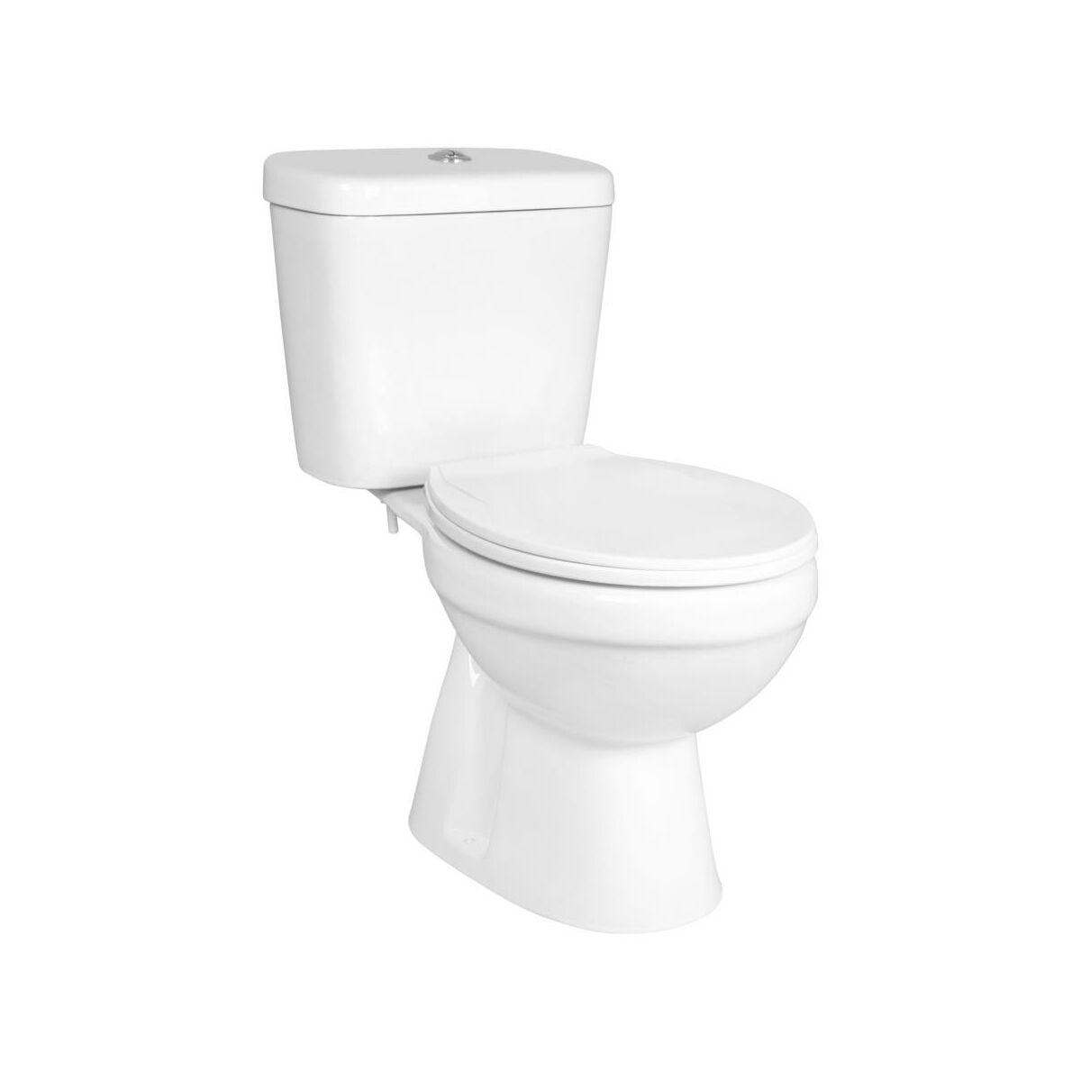 Gotowy zestaw WC do montażu C-CLEAR PIONOWY KERRA