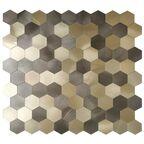 Mozaika Hexa Gold Iryda 29.2 x 28.8 Euroceramika