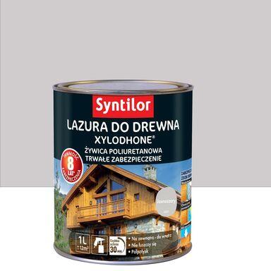 Lazura do drewna Xylodhone HP 1 l  Jasnoszary Syntilor