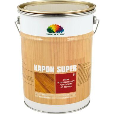 Podkład do lakieru KAPON SUPER 5 l Bezbarwny POLIFARB DĘBICA