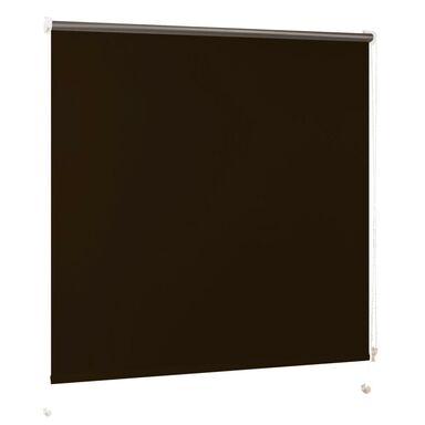 Roleta zaciemniająca BLACKOUT 90 x 160 cm brązowa INSPIRE