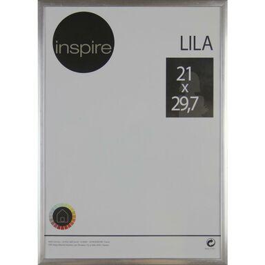 Ramka na zdjęcia LILA 21 x 29.7 cm srebrna INSPIRE