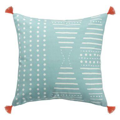 Poduszka BLUE niebieska 45 x 45 cm INSPIRE