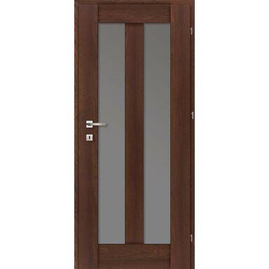 Skrzydło drzwiowe pokojowe ROSA Dąb palony 70 Prawe CLASSEN