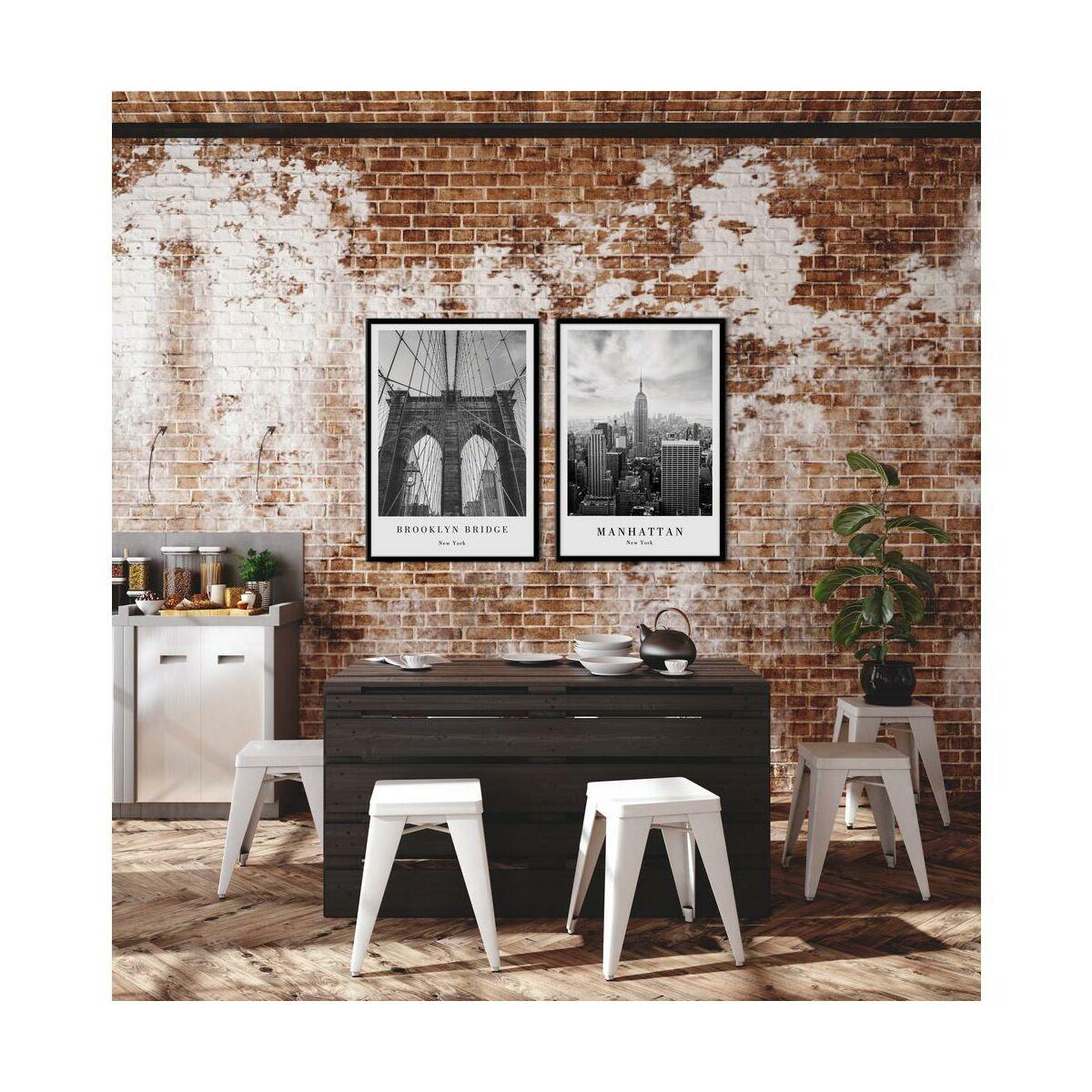 Obraz Brooklyn 50 X 70 Cm Obrazy Kanwy W Atrakcyjnej Cenie W Sklepach Leroy Merlin