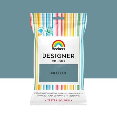 Tester farby Designer Colour 50 ml Break free Beckers