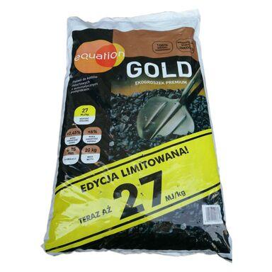 Ekogroszek GOLD 27 MJ 20 kg EQUATION