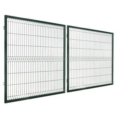 Brama dwuskrzydłowa STARK 400 x 150 cm POLBRAM