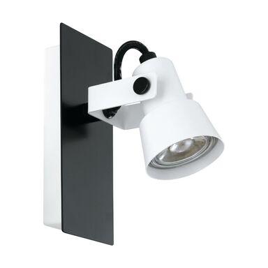 Reflektorek Trillo biało-czarny GU10 Eglo