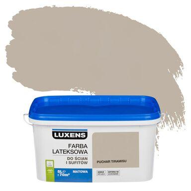 Farba wewnętrzna do ścian i sufitów EMULSJA 5 l Puchar tiramisu LUXENS
