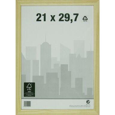 Ramka na zdjęcia NATURAL WOOD 21 x 29.7 cm drewniana