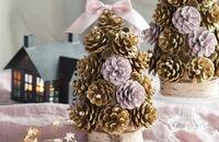 Świąteczny warsztat DIY - choinki z szyszek