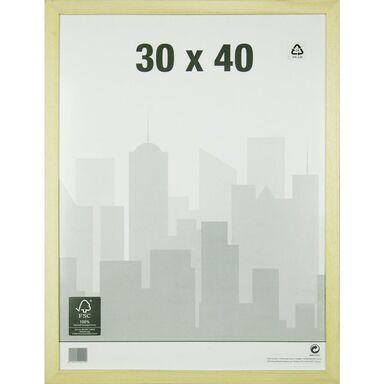 Rama NATURAL WOOD 30 x 40 cm  INSPIRE