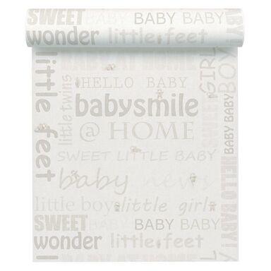 Tapeta dla dzieci BABY SMILE beżowa winylowa na flizelinie