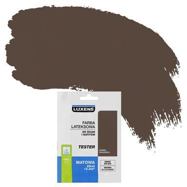 Tester farby DO ŚCIAN I SUFITÓW 25 ml Ziarno kakaowca LUXENS