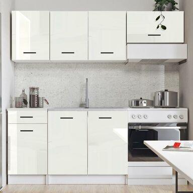 Zestaw mebli kuchennych Diego 5 el. 180 cm kolor biały