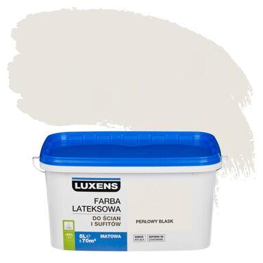 Farba wewnętrzna do ścian i sufitów EMULSJA 5 l Perłowy blask LUXENS