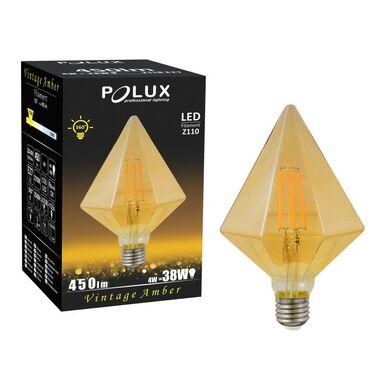 Żarówka dekoracyjna LED E27 (230 V) 4 W 450 lm Ciepły biały POLUX
