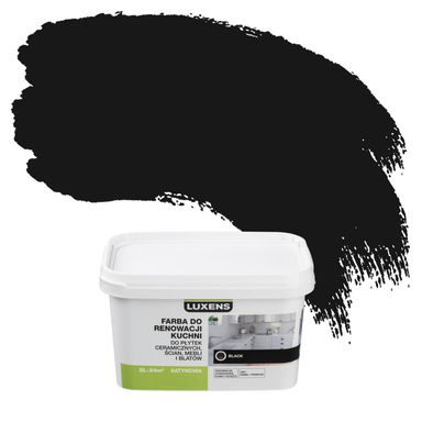 Farba renowacyjna DO KUCHNI 2 l Black LUXENS