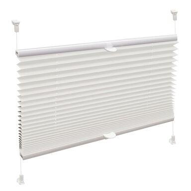 Roleta plisowana zaciemniająca Verona 80 x 150 cm biała termoizolacyjna