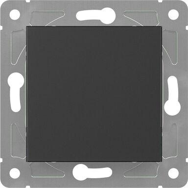 Włącznik pojedynczy schodowy EDG1006W czarny LEXMAN