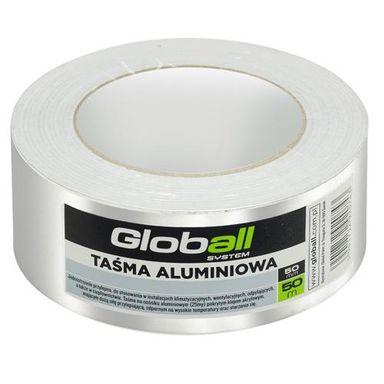 Tasma Aluminiowa 50 Mm X 50 M Globall Tasmy Laczace I Reparacyjne W Atrakcyjnej Cenie W Sklepach Leroy Merlin