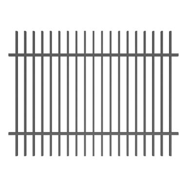 Przęsło ogrodzeniowe NEGROS 200 x 120 cm POLBRAM