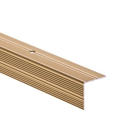 Profil schodowy OBUSTRONNIE RYFLOWANY  dł. 90 cm  EASY LINE