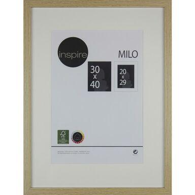 Ramka na zdjęcia MILO 30 x 40 cm dąb MDF INSPIRE
