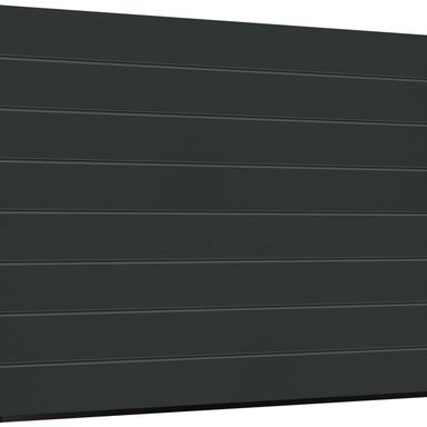 Brama garażowa segmentowa z napędem Isomatic 42 antracyt 2500x2125 mm Hormann