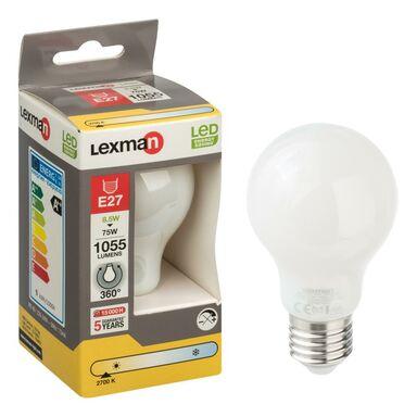 Żarówka LED E27 (230 V) 8.5 W 1055 lm Ciepła biel LEXMAN