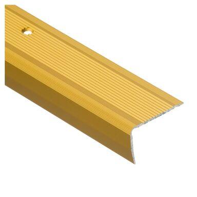 Profil schodowy ryflowany 200 cm złoty EASY LINE