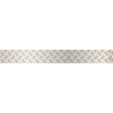 Blacha tłoczona 120 x 1000 x 2 mm aluminiowa połysk GAH ALBERTS