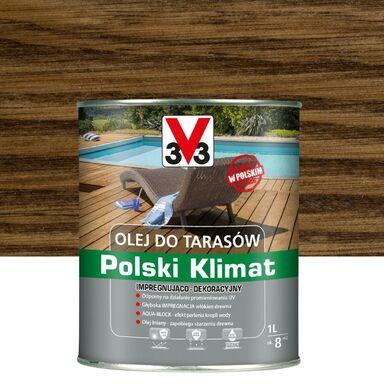Olej do tarasów Polski Klimat 1 l palisander V33