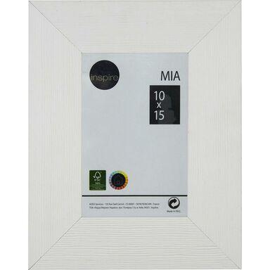 Ramka na zdjęcia MIA 10 x 15 cm biała MDF INSPIRE