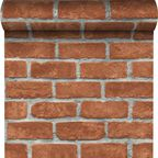 Tapeta RED BRICK INSPIRE