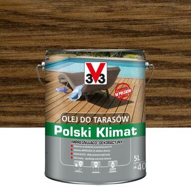 Olej do tarasów Polski Klimat 5 l palisander V33
