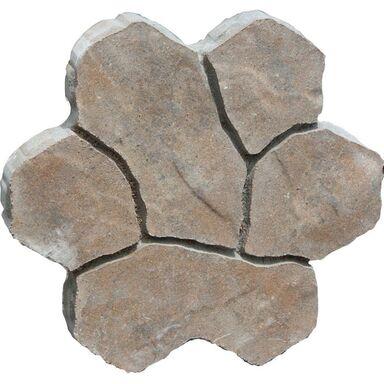 Płyta betonowa MONORYT 1 WAPIEŃ MUSZLOWY dł. 38 x szer. 38 x gr. 6 cm BRUK-BET