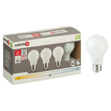 Zestaw żarówek LED E27 (230 V) 7,5 W 806 lm Neutralny LEXMAN