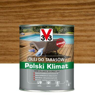 Olej do tarasów Polski Klimat 1 l dąb V33