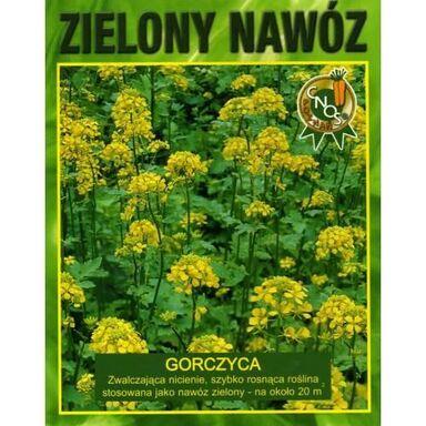 Nasiona kwiatów ZIELONY NAWÓZ 50 g Gorczyca
