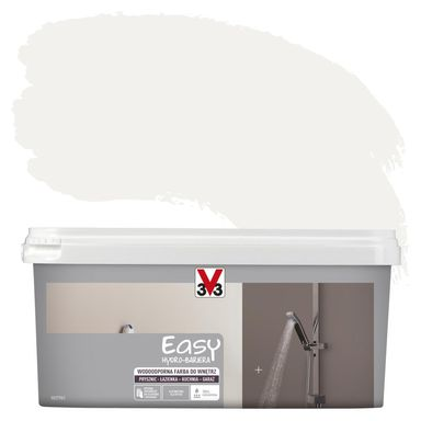 Farba wodoodporna EASY HYDRO-BARIERA 2 l Biały V33