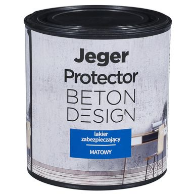 Lakier zabezpieczający PROTECTOR BETON DESIGN 0.5 l Matowy JEGER