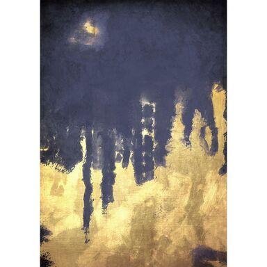 Kanwa ZŁOTA ABSTRAKCJA 70 x 100 cm