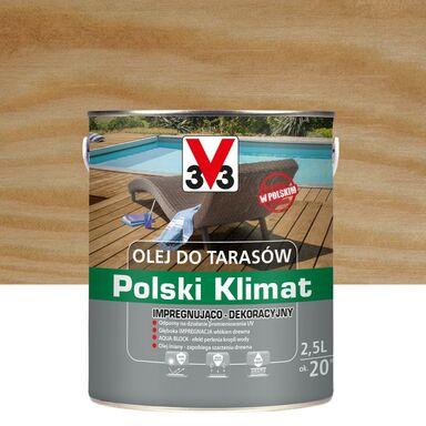 Olej do tarasów Polski Klimat 2.5 l bezbarwny V33