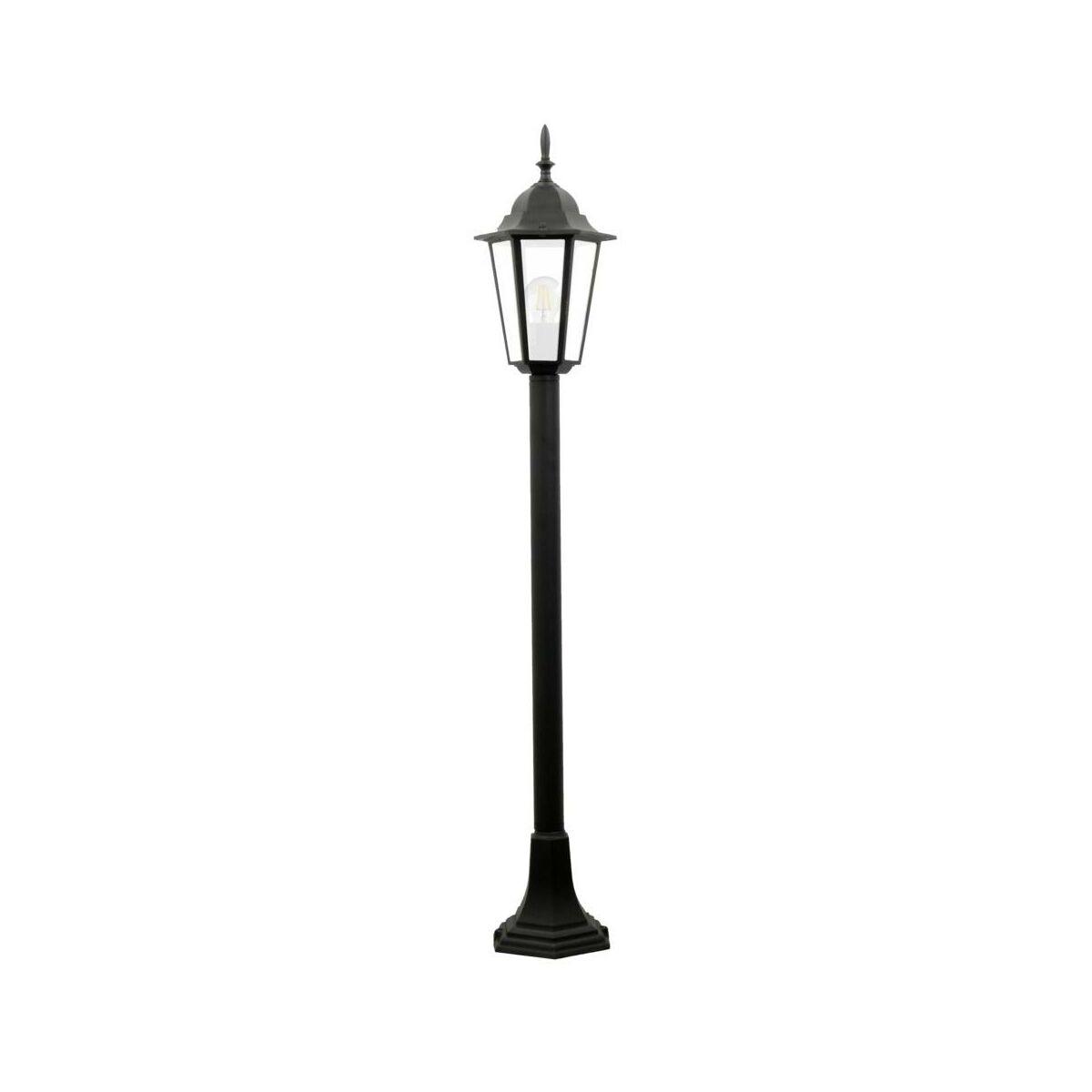 Lampa Ogrodowa Stojaca Liguria Ip44 Czarna E27 Polux Oswietlenie Ogrodowe Napieciowe W Atrakcyjnej Cenie W Sklepach Leroy Merlin