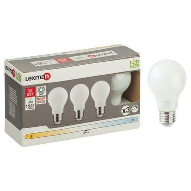 Zestaw żarówek LED E27 (230 V) 11 W 1521 lm Neutralny LEXMAN